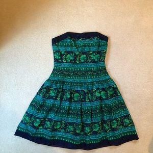 A. J. Bari Strapless Vintage Dress
